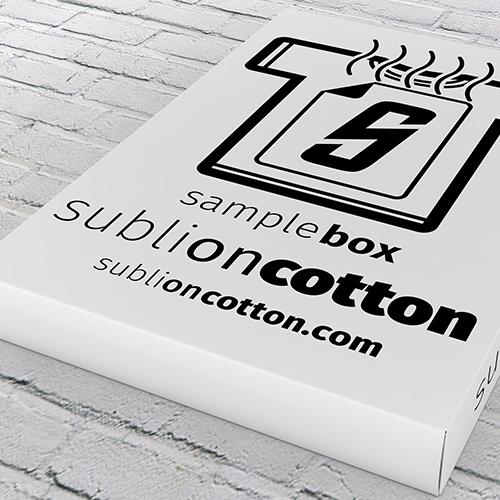 Sublimation on Cotton – Sample Box